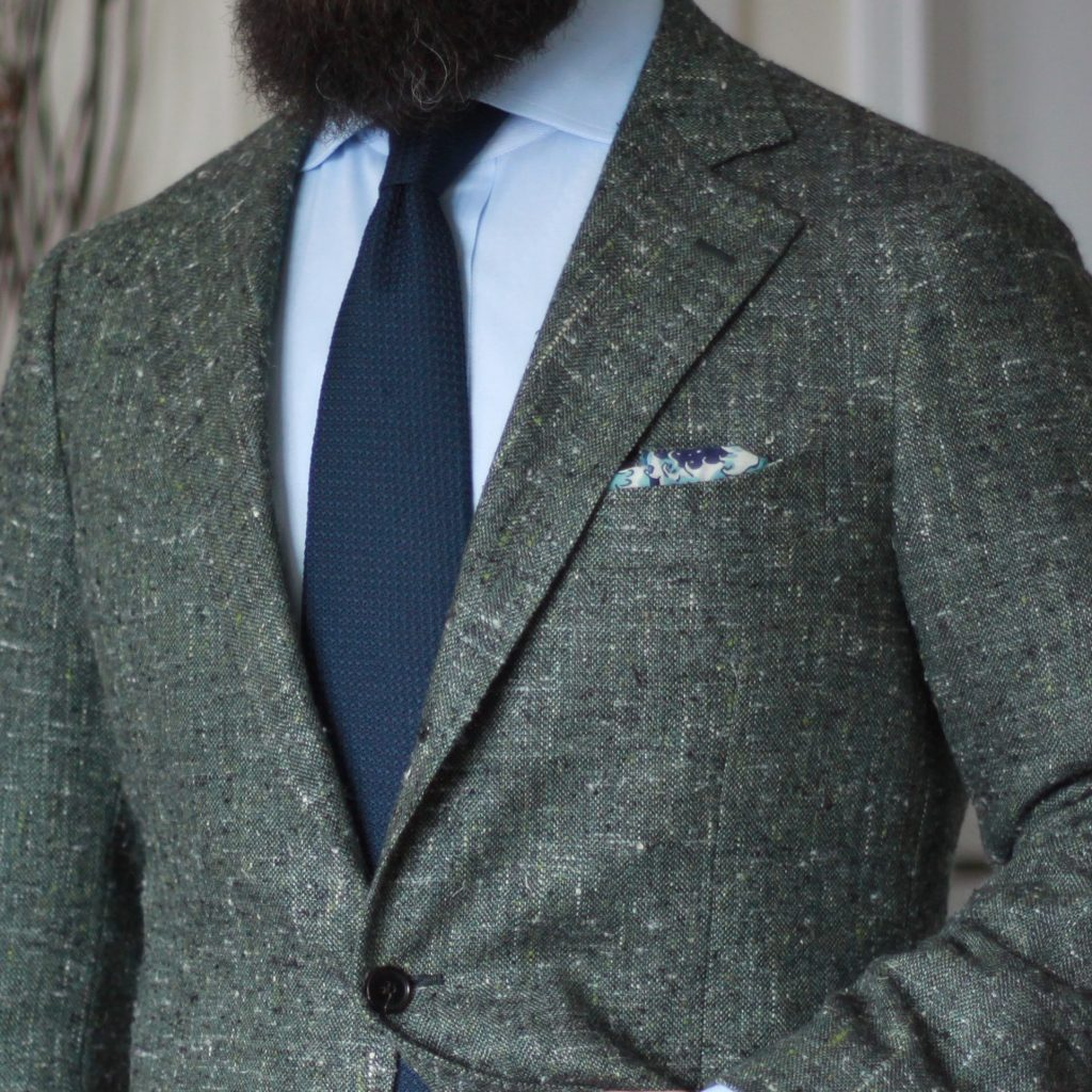 spier mackay, odd jacket, sport coat, green slub, kent wang, great wave