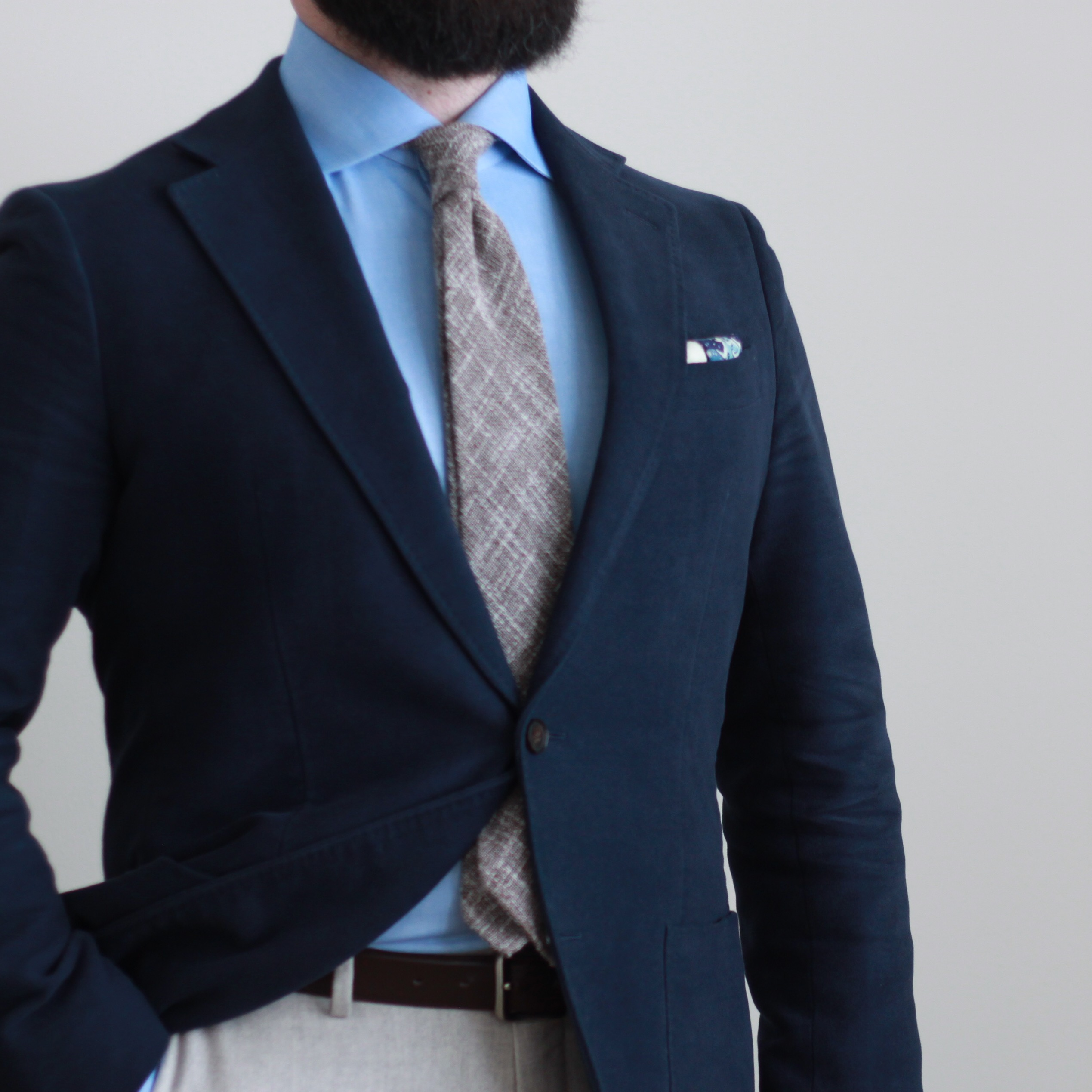 moleskin, navy, odd jacket, sport coat, kent wang, spier mackay, great wave