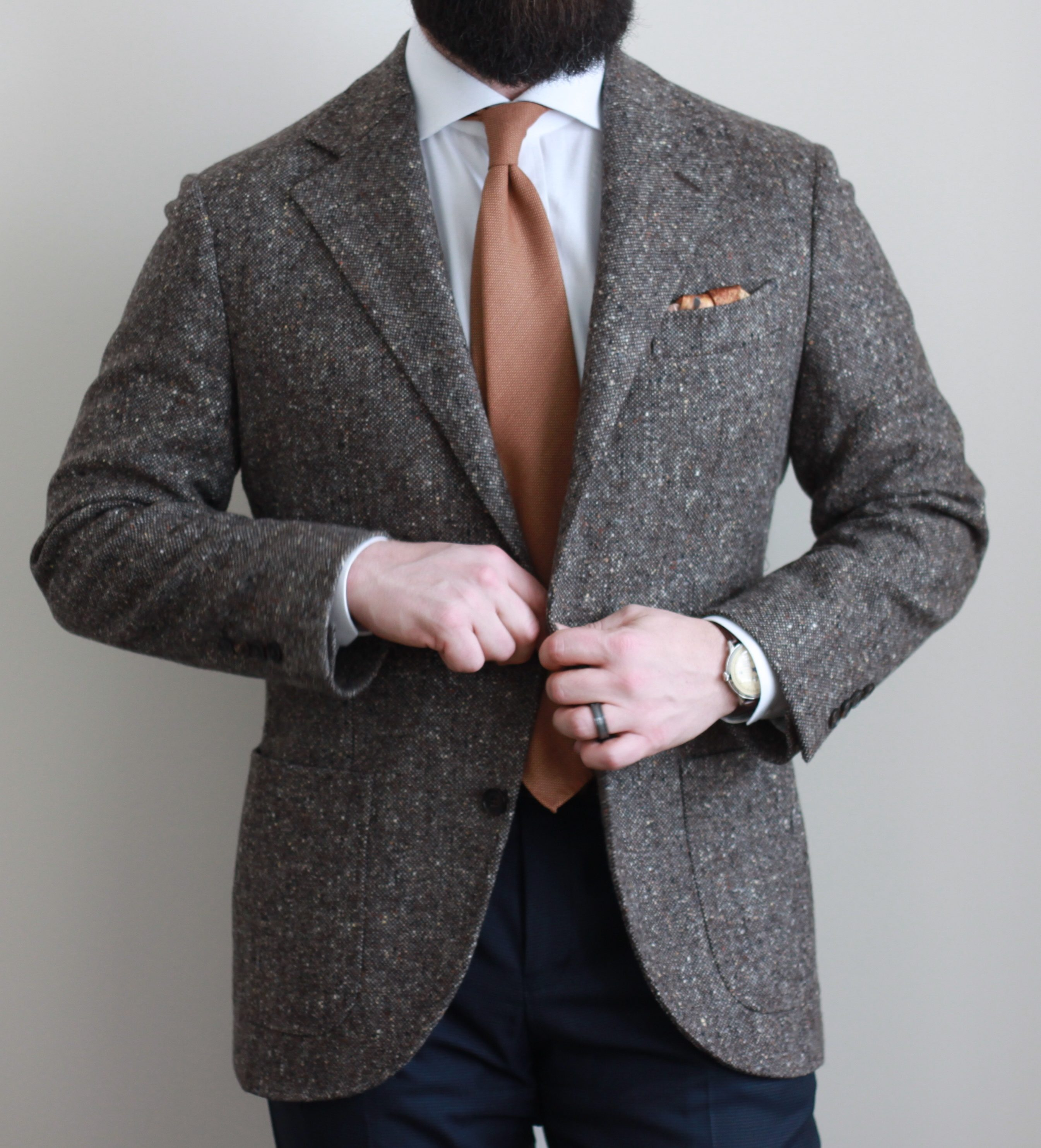donegal, neapolitan, spier mackay, sport coat, odd jacket, tweed, patch pockets