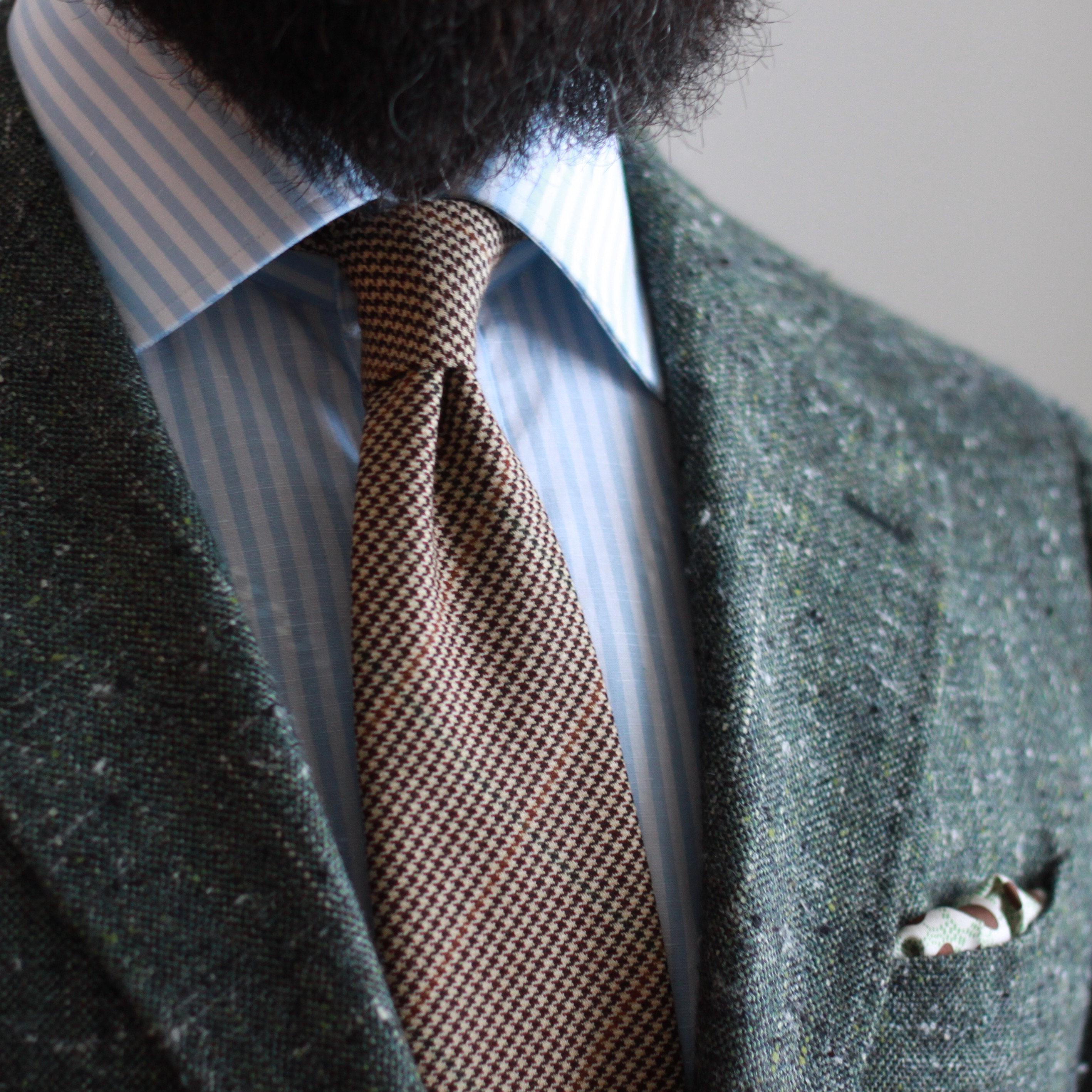 luxeswap, green slub, brooks brothers, spier mackay, odd jacket, sport coat