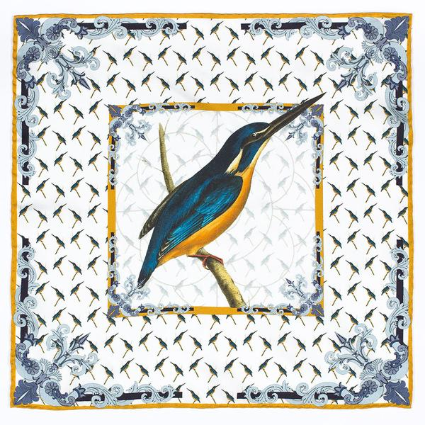Rampley & Co, pocket square, spring/summer, kingfisher, want list