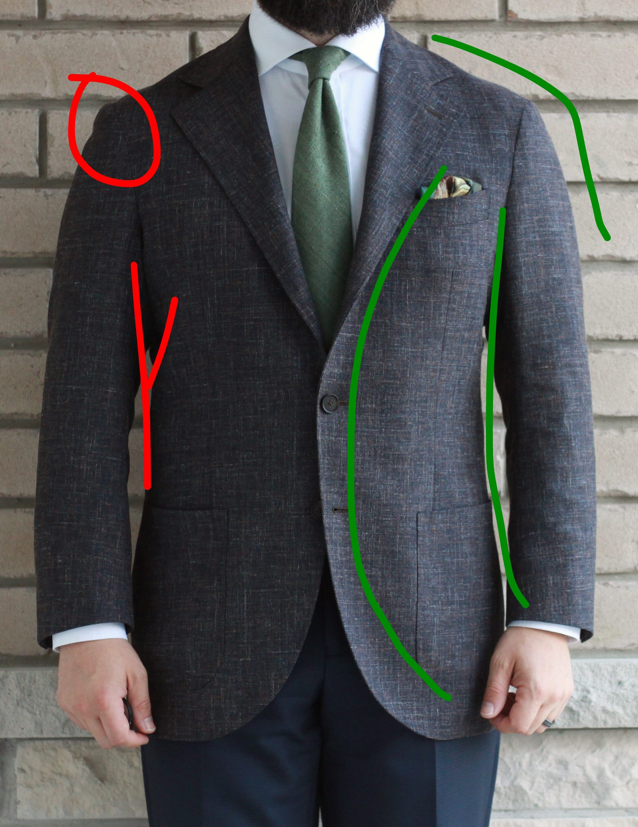spier & mackay neapolitan, fit analysis, review, sport coat, odd jacket, spring/summer