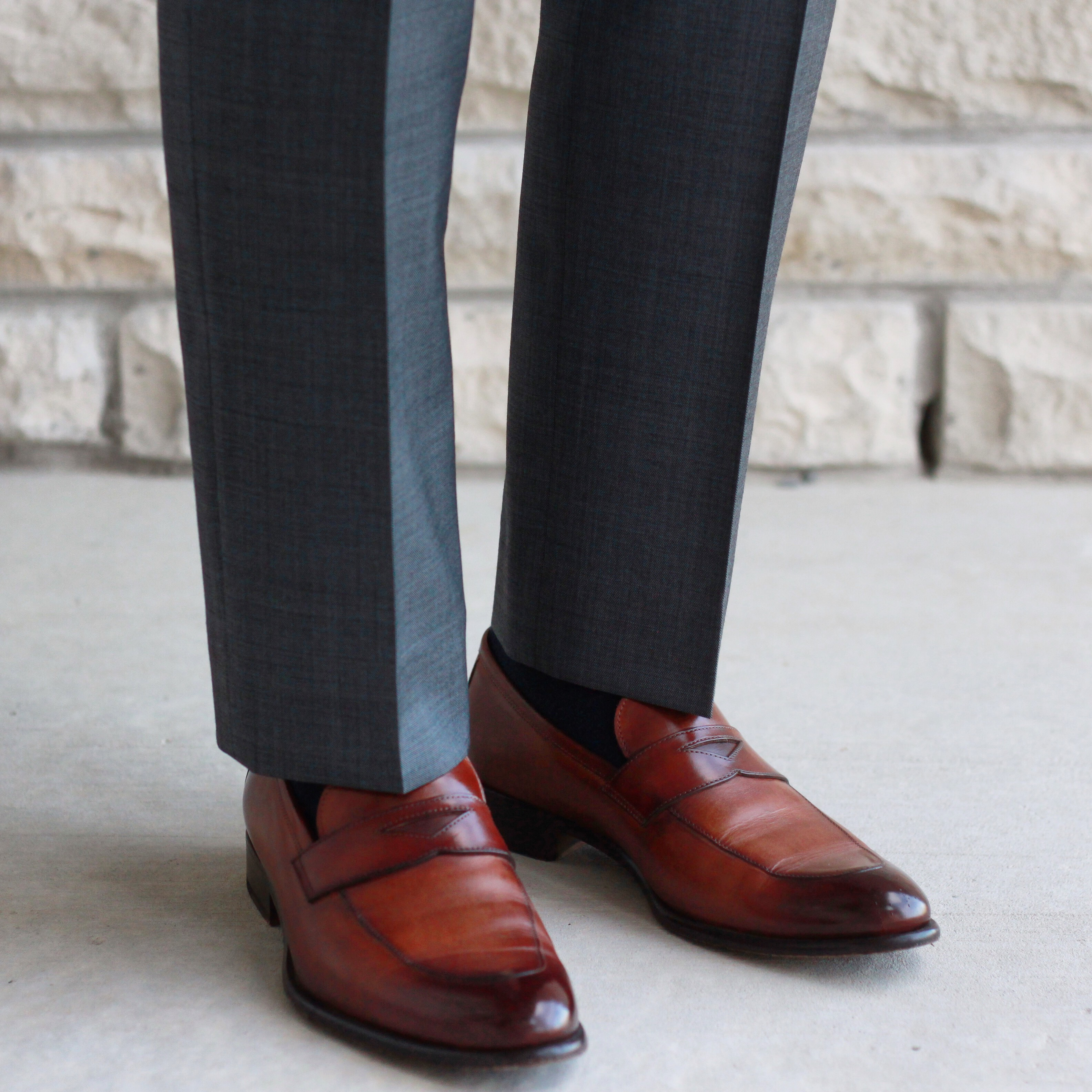 paul evans ny review, paul evans ny shoes, loafers, havana brown, product review