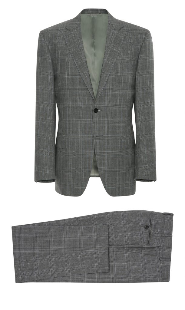 canali, suit, grey prince of wales, menswear, inspiration