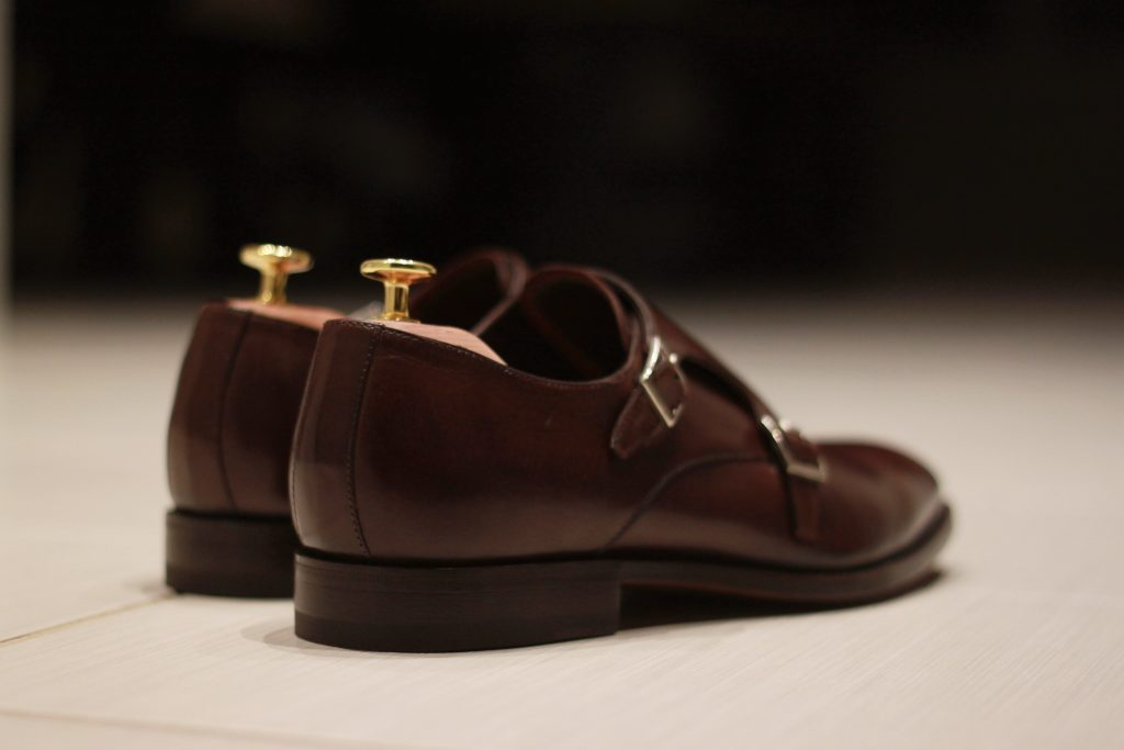 51Label, Haste double monk, chocolate leather, monkstraps, after the suit
