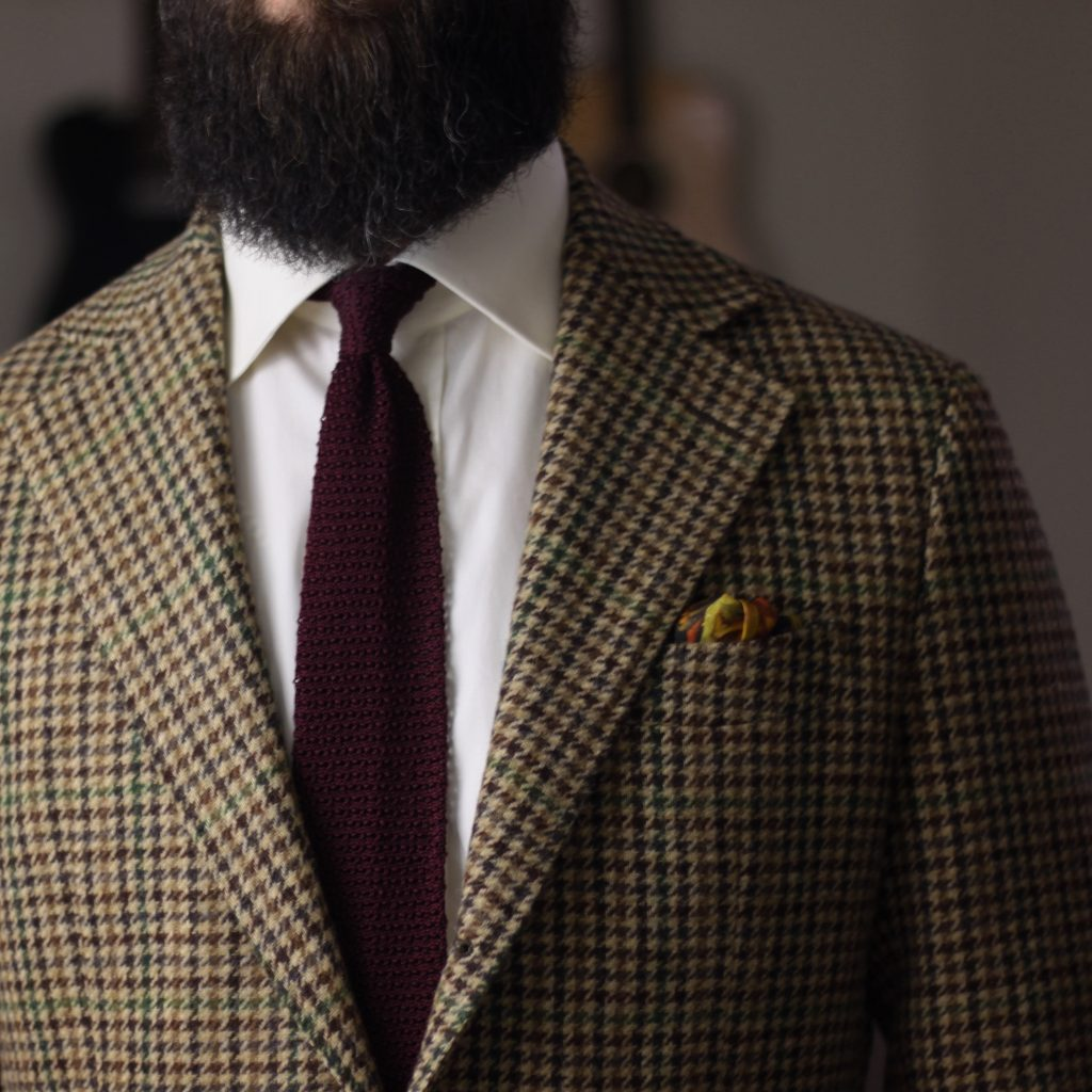 silk pocket square, tweed sport coat, what i wore, after the suit, oxford rowe, spier & mackay