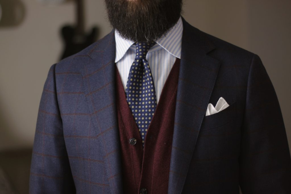 inspiration, layers, cardigan, cashmere, sport coat, tie, pocket square, after the suit, what i wore