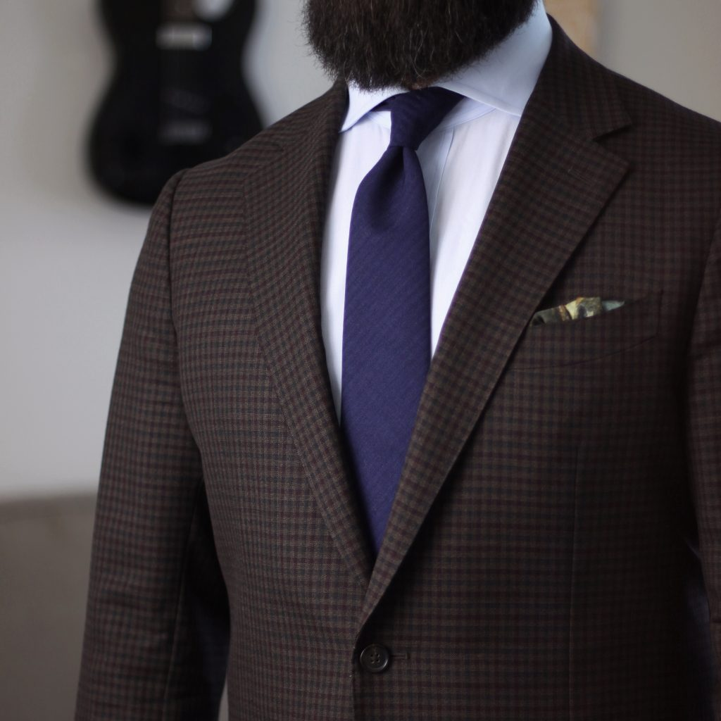 navy self stripe, tie, oxford rowe, after the suit, review