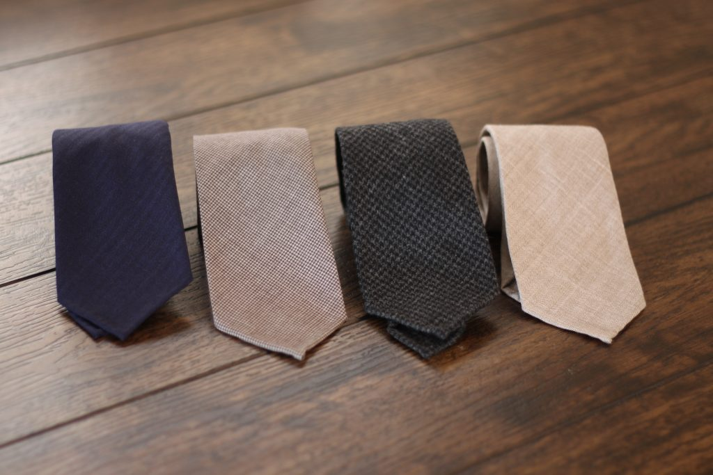 oxford rowe, oxford rowe wool ties, zegna, drago, handrolled, made in italy, after the suit