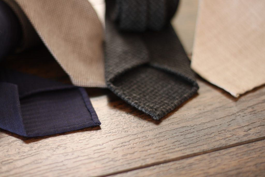 handrolled edges, ties, made in italy, oxford rowe review