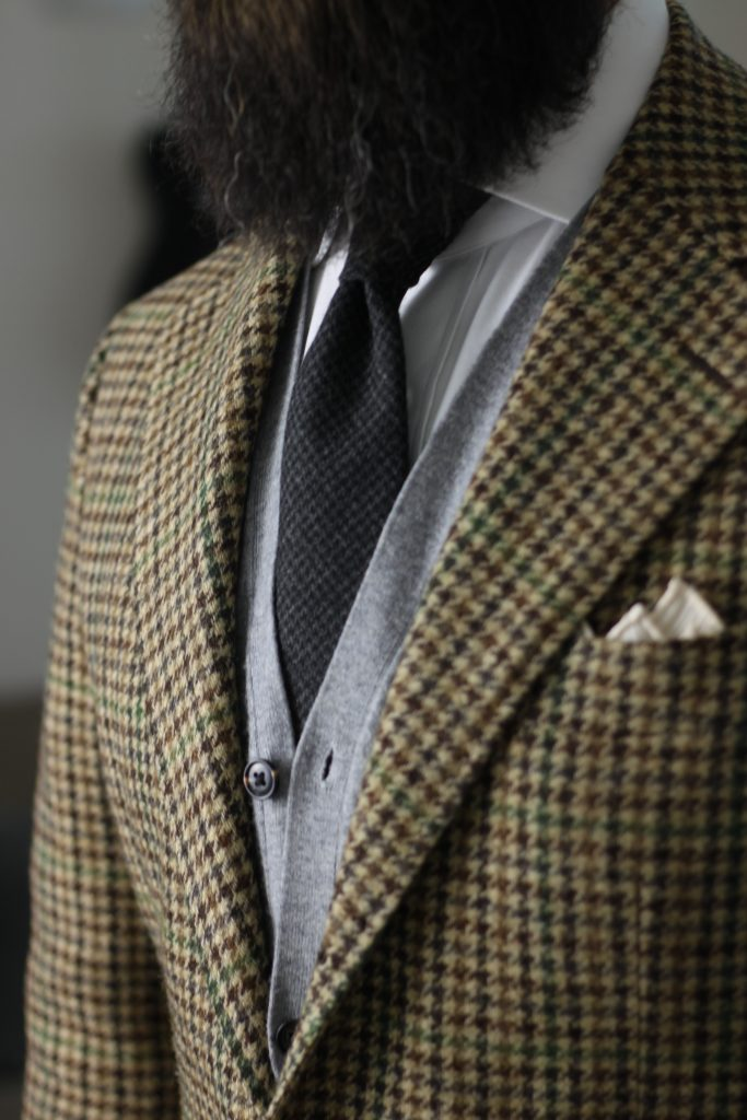 oxford rowe, wool tie, pocket square, tweed, sport coat, after the suit