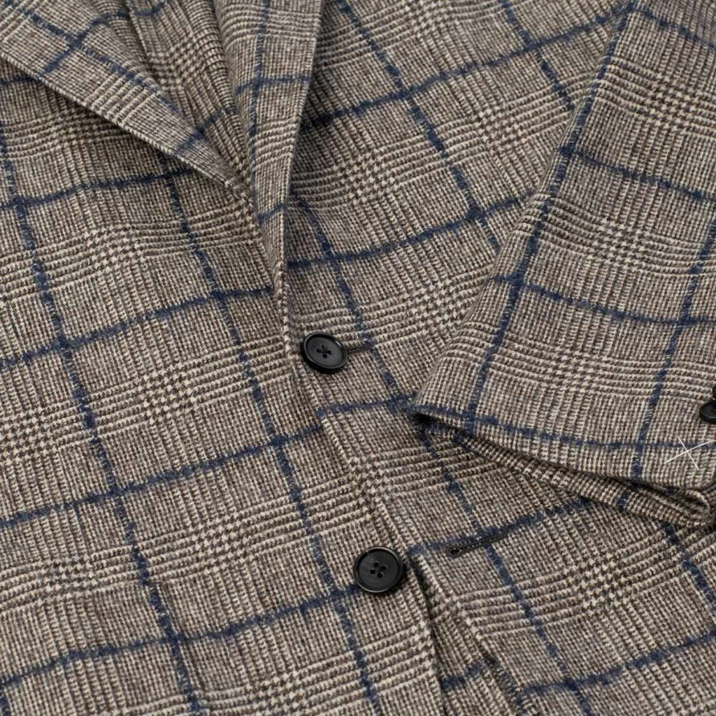 angelico, rustic check, sport coat, spier and mackay, spier & mackay, f/w19