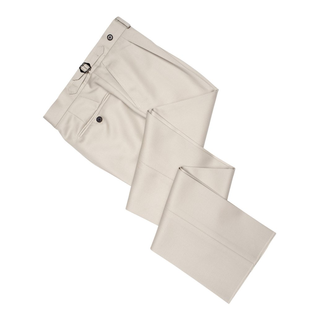 vbc, covert twill, high rise trouser, pleated trouser, spier and mackay