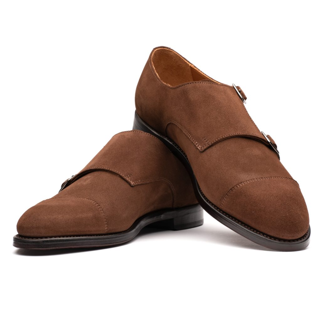 double monkstraps, shoes, goodyear welted, spier and mackay