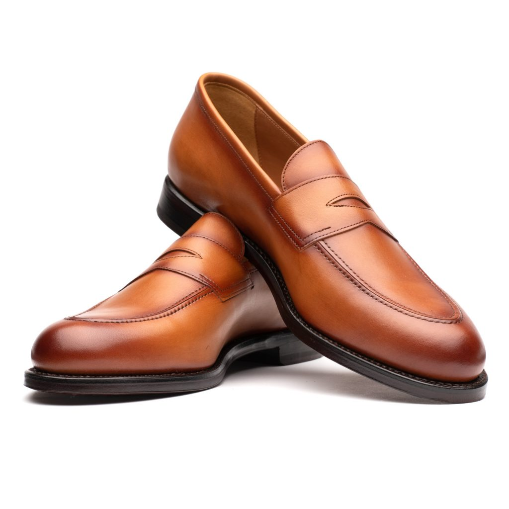 tan loafers, brown loafers, leather, suede, goodyear welted, spier and mackay, spier & mackay