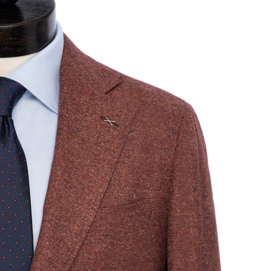 spier and mackay, donegal, brick red, zignone, sport coat