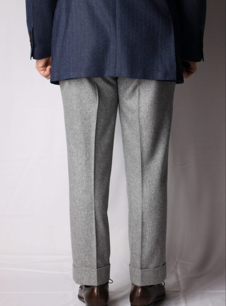 spier & mackay MTO, mto trousers, made to order, spier mackay, classic menswear, flannel trousers