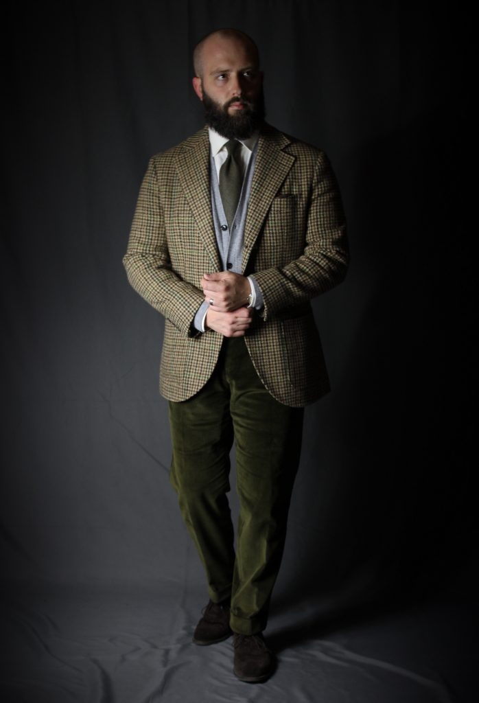 tweed, tweed jacket, guncheck, fox flannel, amide hadelin, spier mackay, after the suit