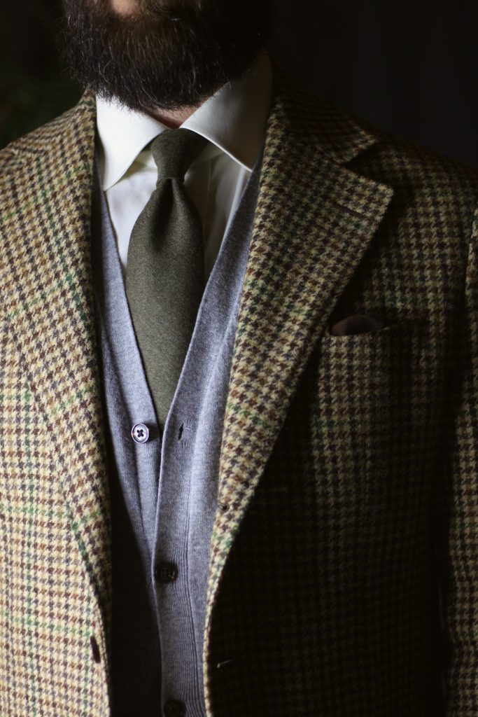 amide hadelin, fox brothers, flannel, tie, pocket square, the syndics, rembrandt, amide hadelin, after the suit