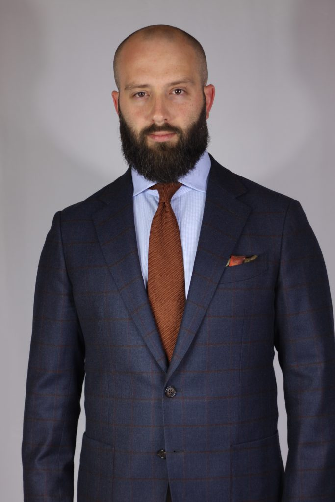 aklasu ties, grenadine, pocket square, amide hadelin, the syndics
