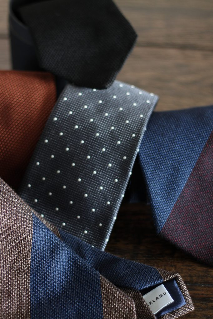 aklasu ties, aklasu grenadine, grenadine tie, menswear, accessories, reviewed, after the suit