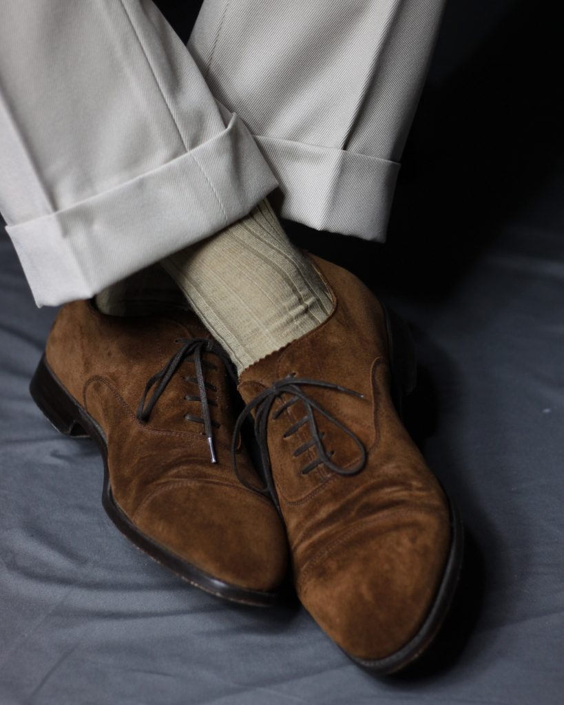 pima cotton, dress socks, mid calf socks, boardroom socks, morjas shoes, spier and mackay, after the suit