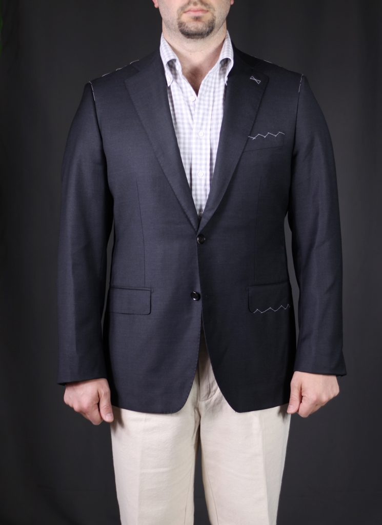 kent wang mtm, kent wang trial garment, mtm, sport coat, after the suit