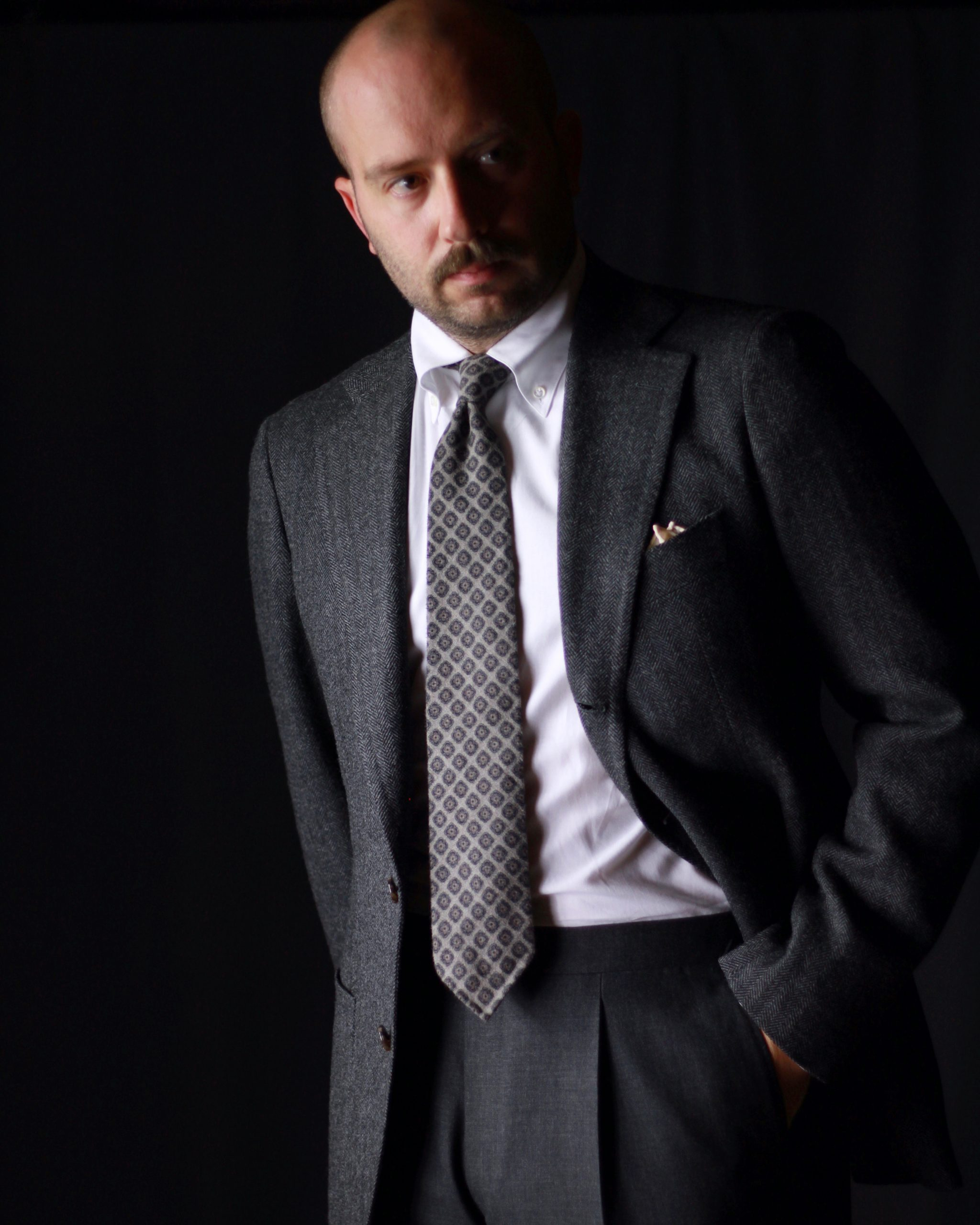 cavour, mod 2, what i wore, after the suit, loro piana, herringbone, tailoring, sport coat