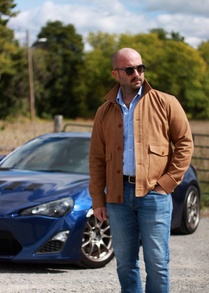 what i wore, honey denim, flight jacket, collaro, after the suit, afterthesuit