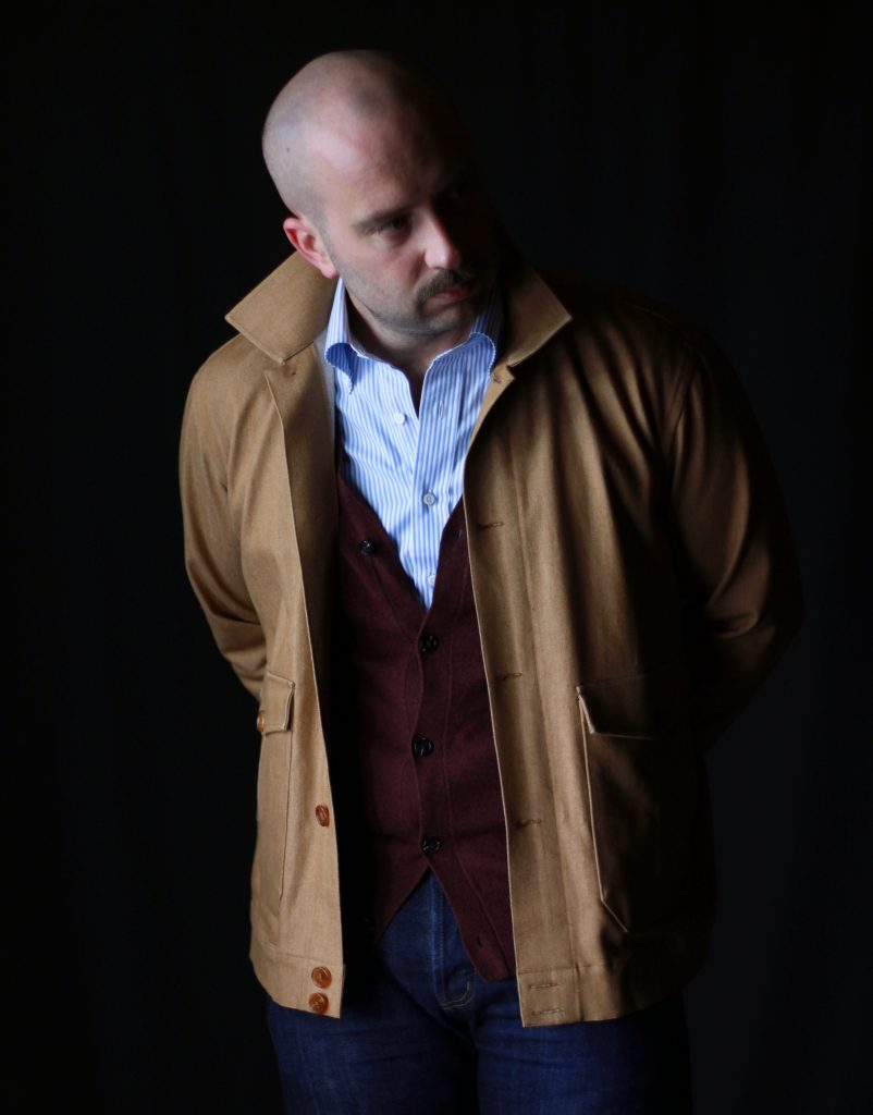 collaro, collaro classic menswear, flight jacket, what i wore, after the suit