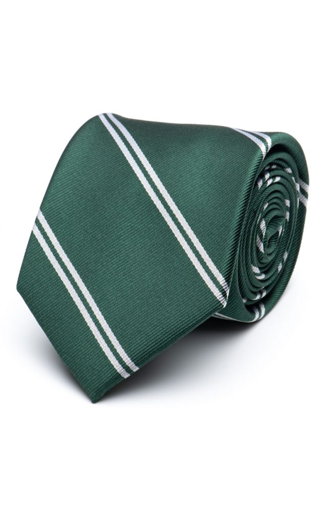 green tie, double stripe, spier and mackay, after the suit, ss21
