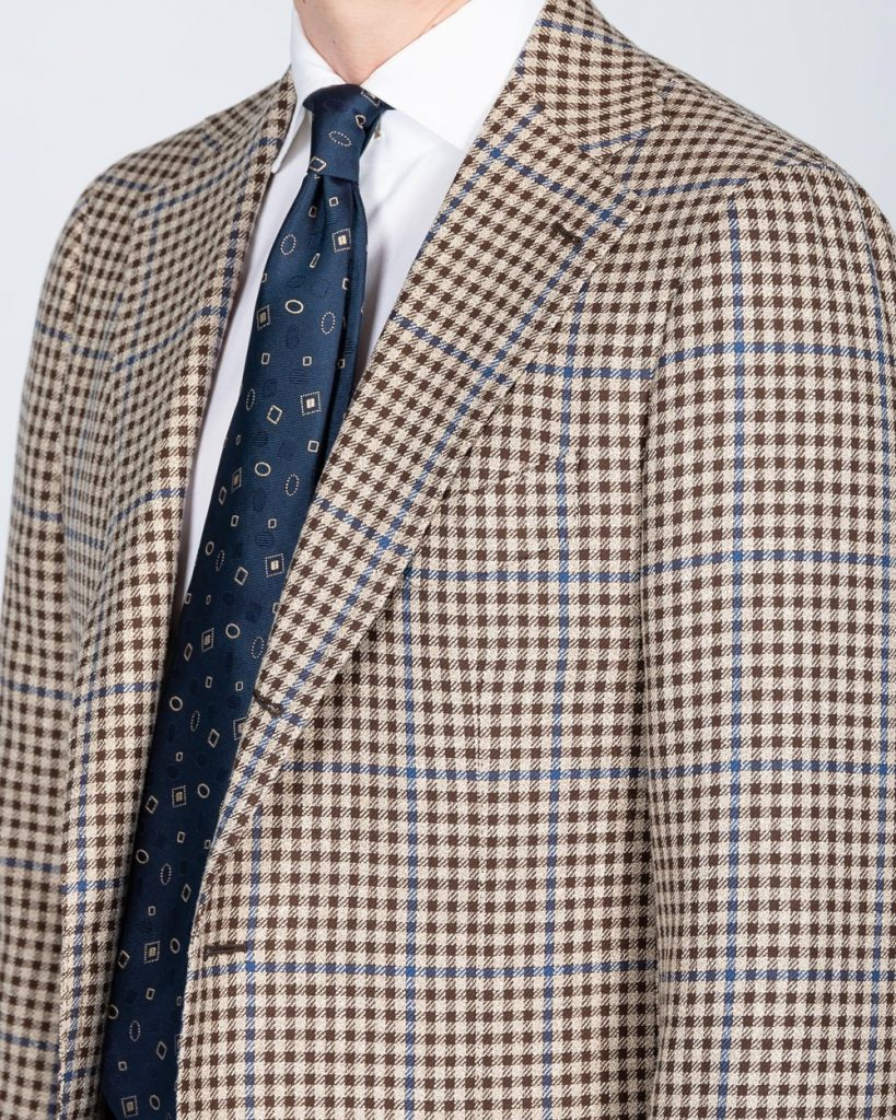mod 2, cavour, full canvas, hand made, guncheck, sport coat, after the suit,